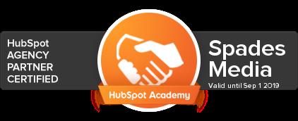 Spades Media HubSpot Agency Partner Certified