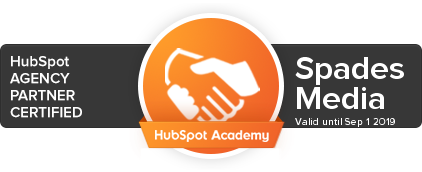 Spades Media HubSpot Agency Partner Certified